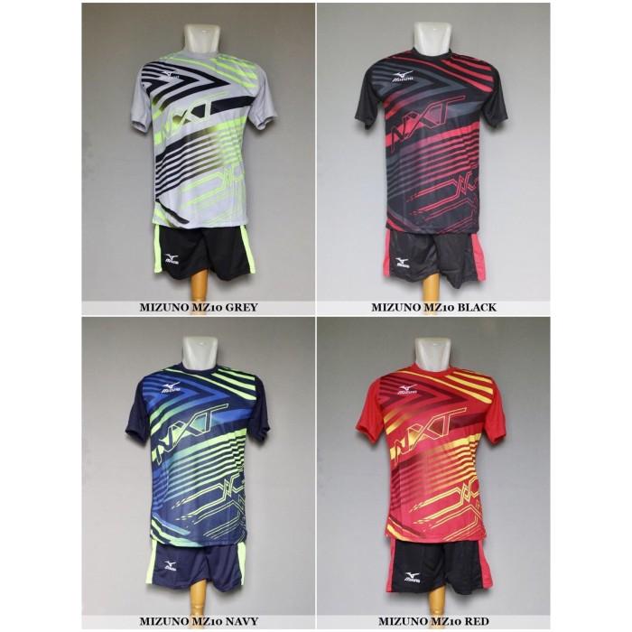 Jual Baju Kaos Olahraga Seragam Volley Setelan Voli Mizuno MZ10 ... 3170f6c3e6