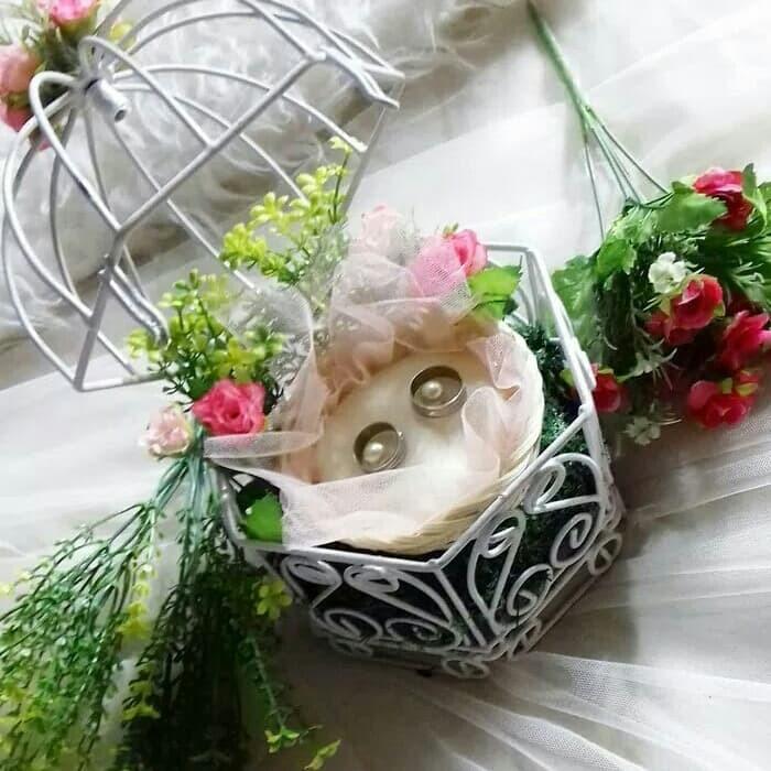 Jual Tempat Cincin Pernikahan Seserahan Mas Kawin Lamaran Tunangan Kota Bandung Baju Sabrina Shop Tokopedia