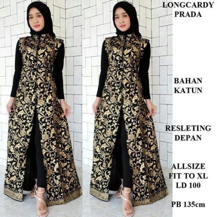 Longcardi Batik Prada Bakung Elegan - Blanja.com