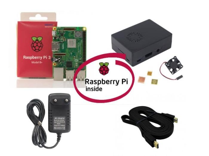 harga Paket raspberry pi 3b+ tanpa microsd Tokopedia.com
