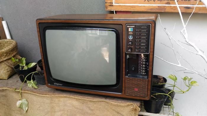 Harga Jual Tv Jadul Vintage Antik Lawas Kuno Rare Langkah Dan Imoet