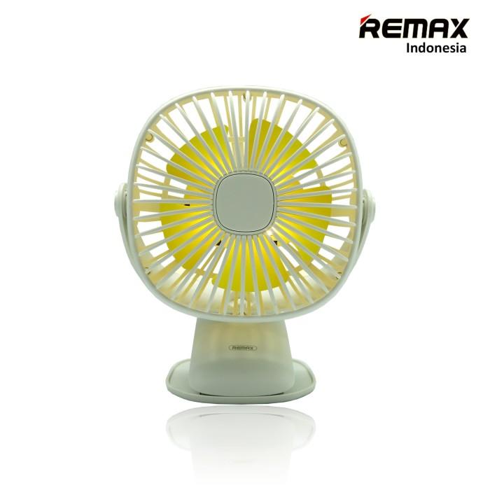 harga Kipas angin portable multifungsi dengan lampu led original remax white - putih Tokopedia.com