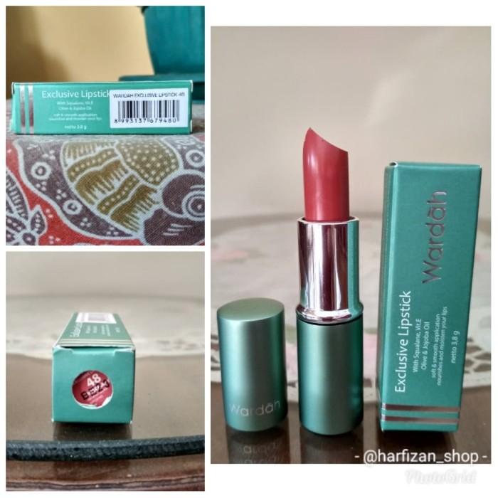 Wardah Exclusive Lipstick No 48 Rosemary Lipstik Wardah Daftar Source · WARDAH EXCLUSIVE LIPSTICK No 41
