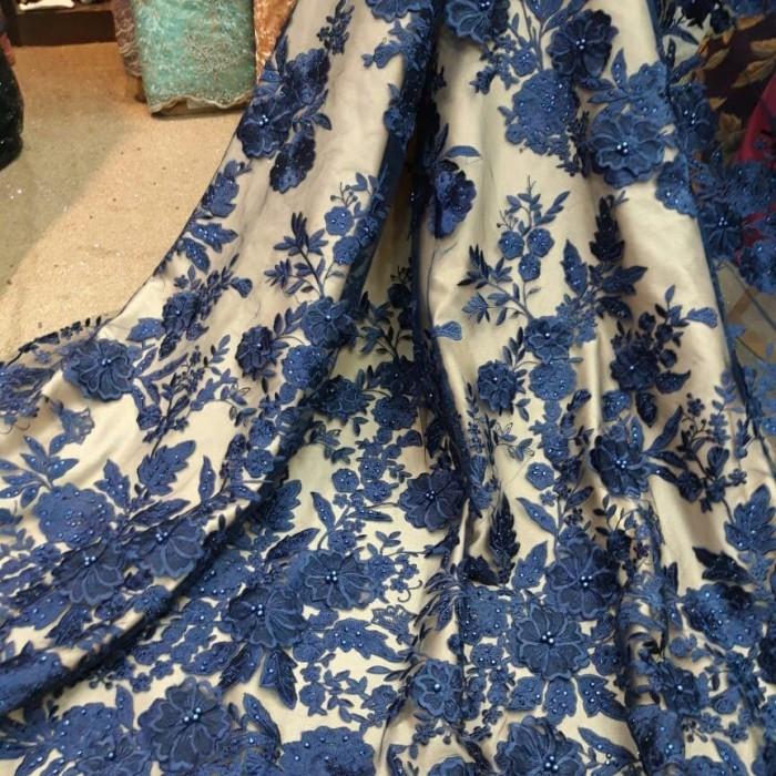 Jual Kain Tile 3d Terbaru Bahan Kebaya Gaun Dress Kain Brokat