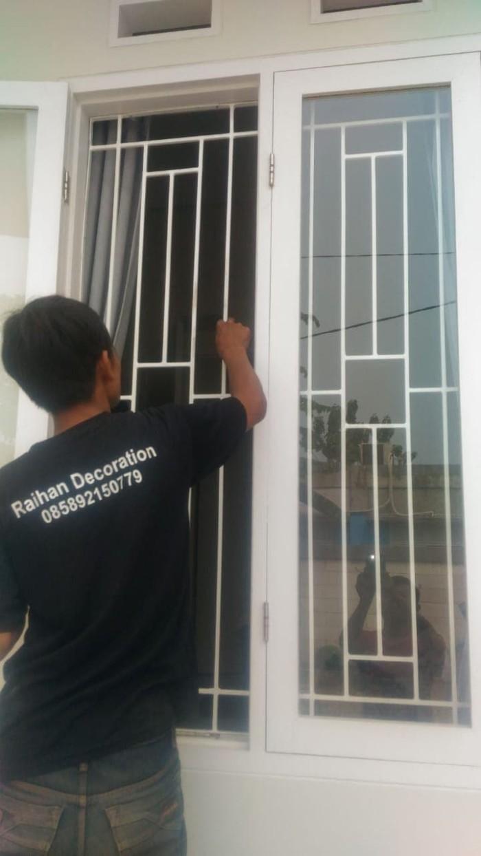 Jual Tralis Jendela Minimalis Kota Tangerang Selatan Mulya Decorations