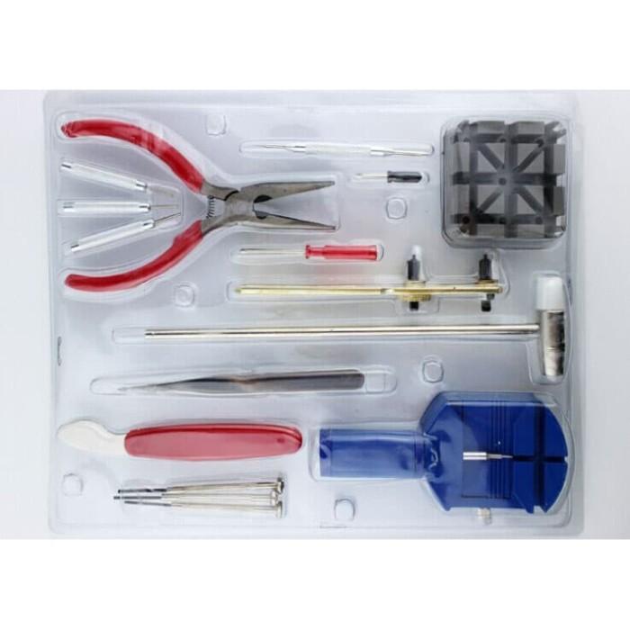 Foto Produk Alat Reparasi Service Servis Tool Kit Jam Tangan Buka Ganti Tali Jam dari aksesoris-iPhone