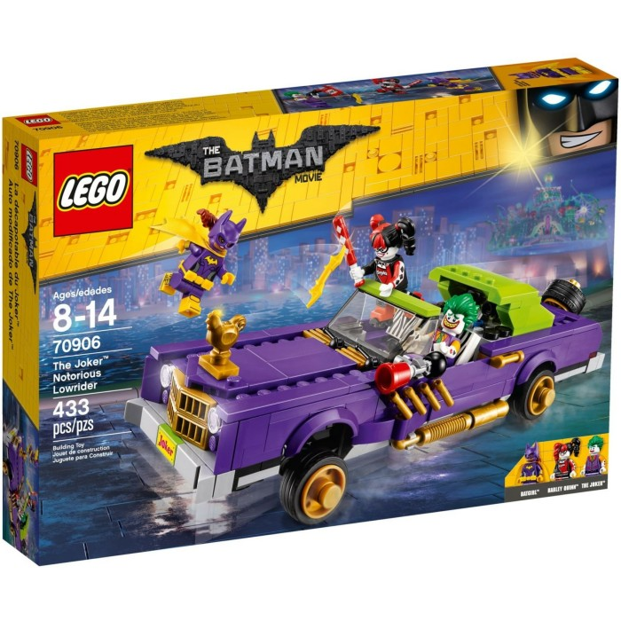 Jual Lego Batman Movie The Joker Notorious Lowrider 70906 Top Bricks Toys Tokopedia