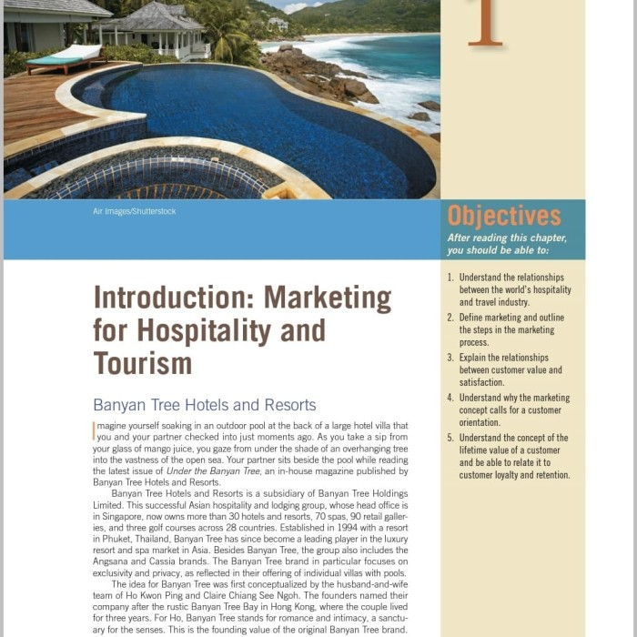 Ebook Marketing For Hospitality And Tourism