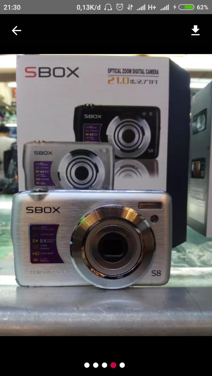 harga Kamera digital s box s8 20 mp hu Tokopedia.com