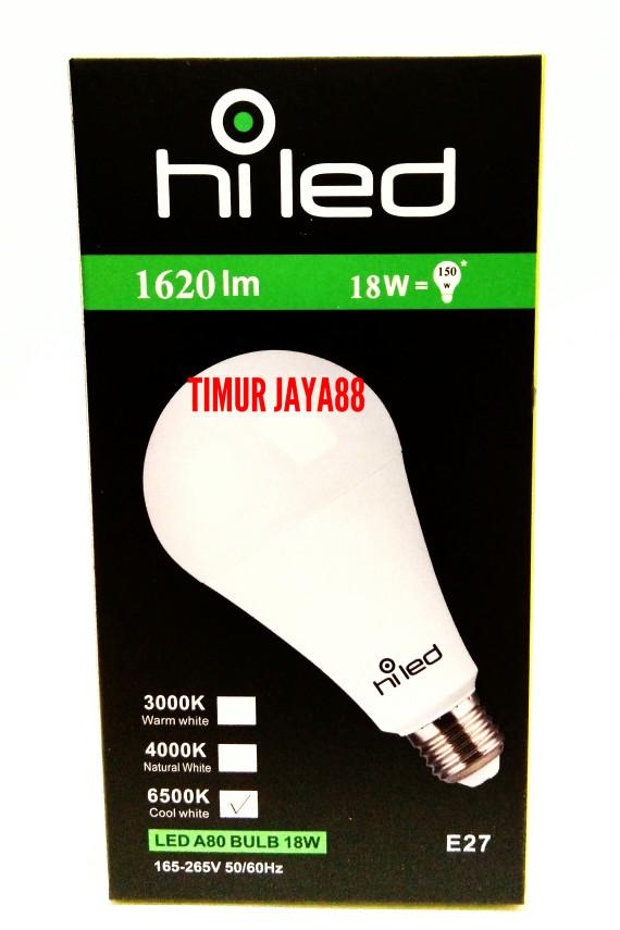 harga Lampu led bulb hi led hiled bohlam led 18 watt 18w 18 w bukan philips Tokopedia.com