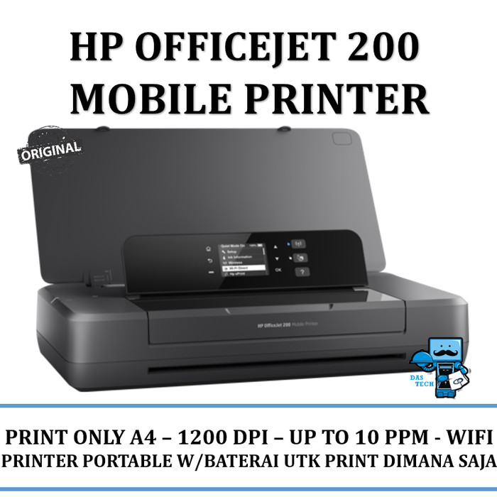 harga Printer hp oj200 officejet portable mobile printer - resmi Tokopedia.com