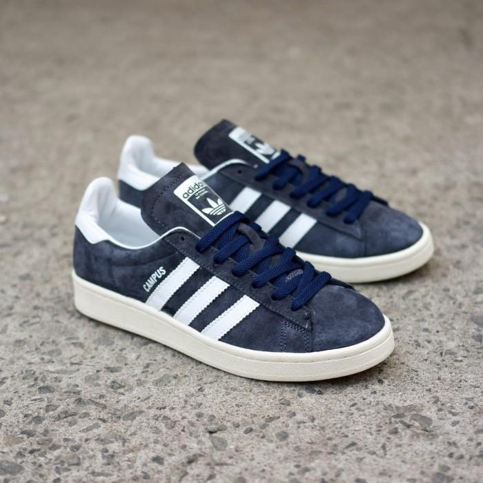 Jual Adidas Campus Dark Navy Jakarta Selatan Joey Sneakers