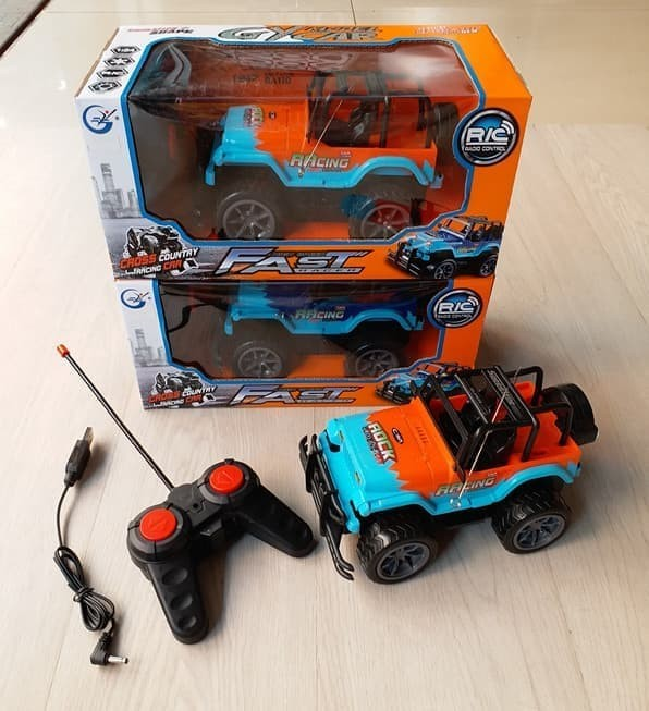 harga Mainan Mobil Jeep Rock Remote Control Blanja.com