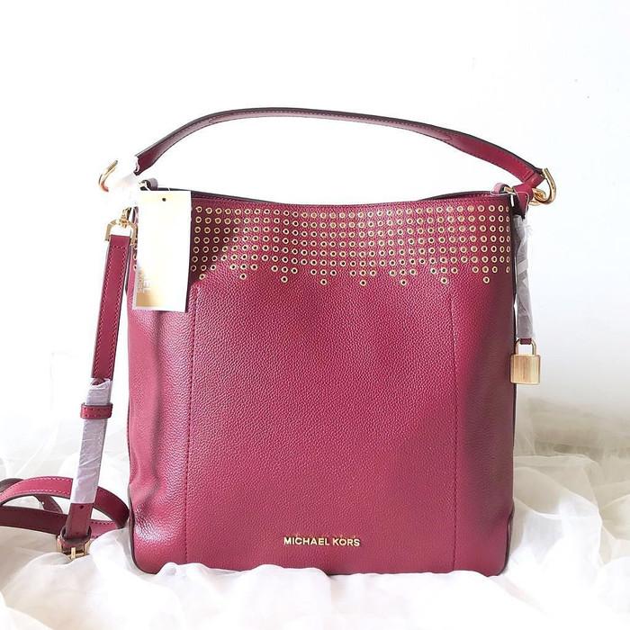 9078befeddc4 Jual Tas Michael Kors Original / MK Hayes Bucket Shoulder Bag - DKI ...