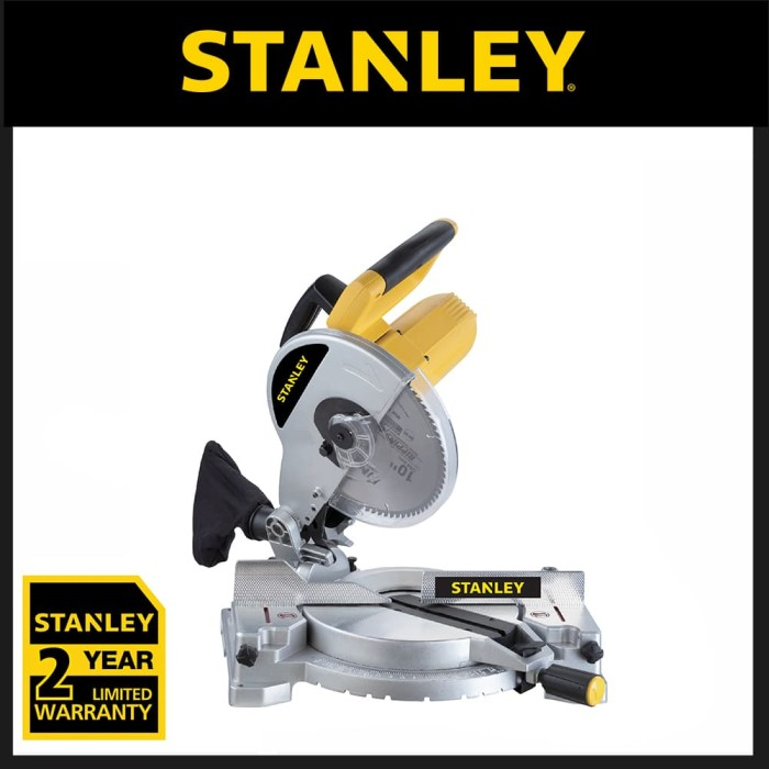 harga Stanley 1500w 254mm mitre saw stel721-b1 Tokopedia.com