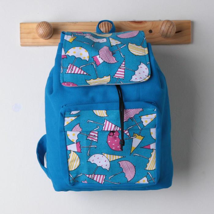 Tas anak tas ransel serut tas kanvas anak tas sekolahbackpack mini