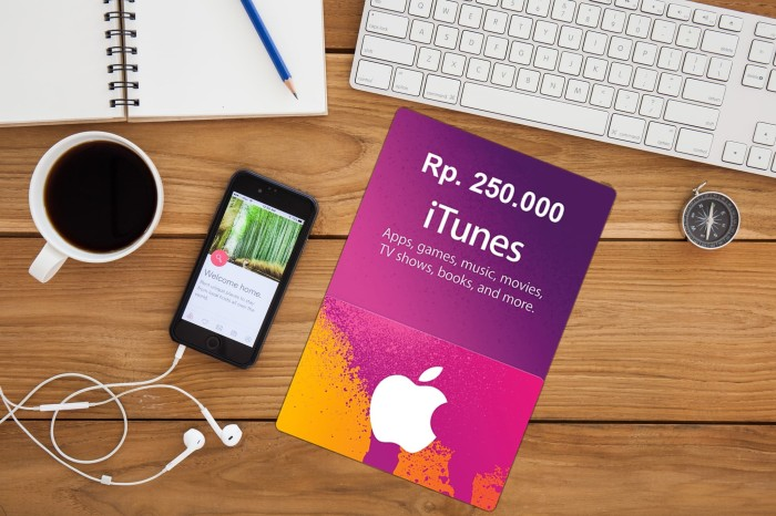[BEST SELLER] ITUNES GIFT CARD INDONESIA ADD FUNDS - Rp 250.000