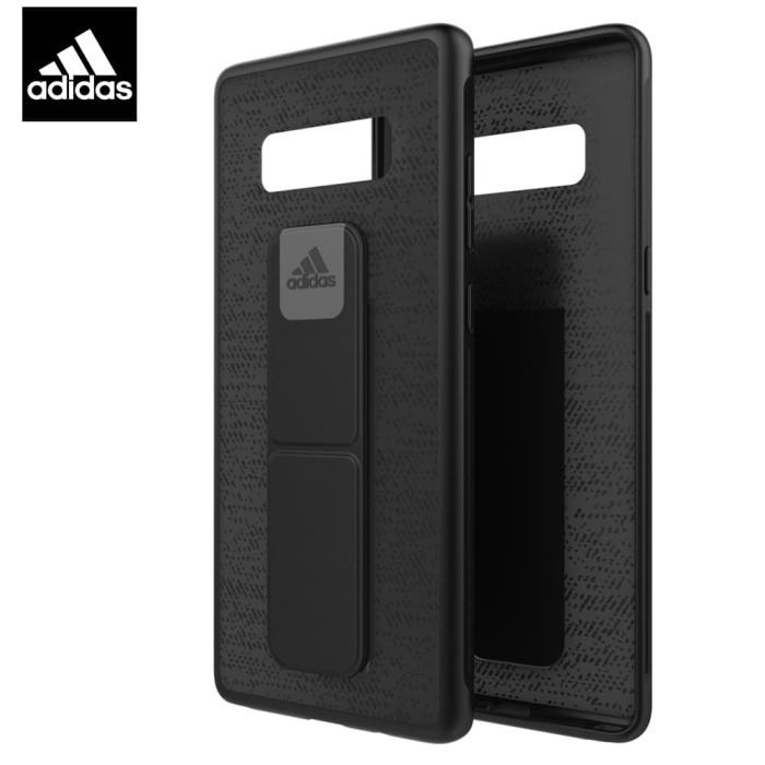 adidas performance grip case samsung galaxy note 8 - black
