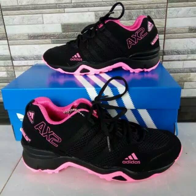 Jual Sepatu Pria Adidas Ax2 Hitam Pink Sepatu Sport Wanita