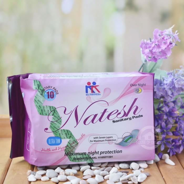 Foto Produk Natesh - Pembalut Herbal Night isi 10 Pcs dari House Of Organix