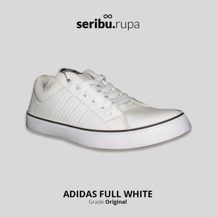 Sale Shoes V01x4 Sepatu Sneakers Wanita Adidas Full White Lokal Import N91b2 db3077ce20