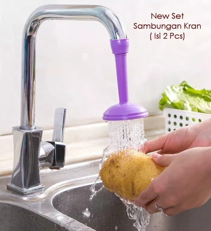 harga Keran air sambungan pegirit air perabotan rumah 2 pcs multiguna Tokopedia.com