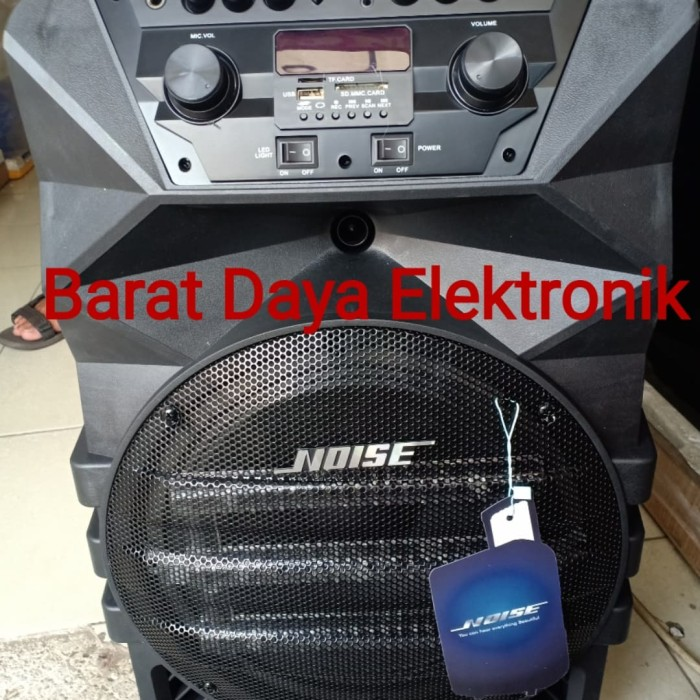 harga Noise 899-g speaker portable amplifier wireless 12 inch bluetooth Tokopedia.com