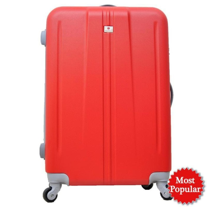 Polo Team Tas Koper Hardcase Kabin 003 Size 20inch - Merah