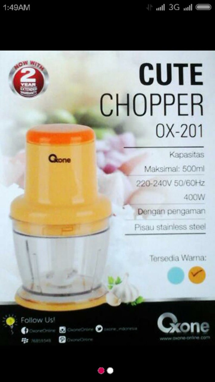 Info Produk Oxone Travelbon.com