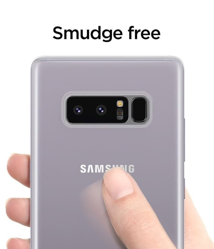 timeless design 0741e a24c6 Jual Spigen Air Skin Case for Galaxy Note 8 - All Colors - Hitam - Marniid  | Tokopedia