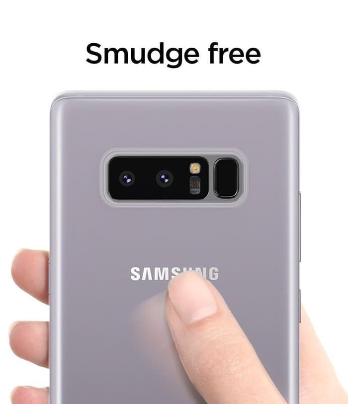 timeless design de1c3 10abd Jual Spigen Air Skin Case for Galaxy Note 8 - All Colors - Hitam - Marniid  | Tokopedia