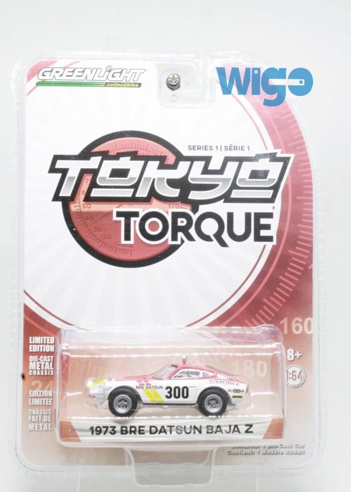Greenlight 1973 Bre Datsun Baja Z putih Tokyo Torque Diecast seller