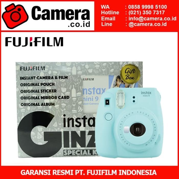 harga Fujifilm instax mini 9 ginza package - ice blue Tokopedia.com