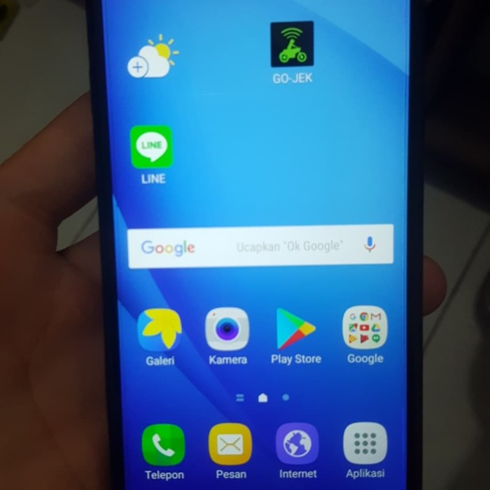 Harga Jual Samsung J5 Prime G570y Bekas Biru Harga Rp 1 500 000