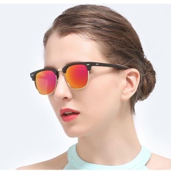 Jual Retro Half Frame Sunglasses LQ 9912 L - Kacamata Pria   Wanita ... 879020df74