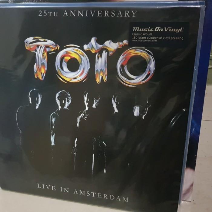 harga Toto live in amsterdam 25th anniversary vinyl lp 180gr Tokopedia.com