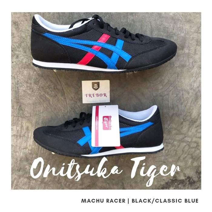 the latest cfd12 1ccce Jual Onitsuka Tiger Machu Racer Black/Classic Blue - Hitam, 41 - Kab.  Karawang - Treborsneakers Indonesia | Tokopedia
