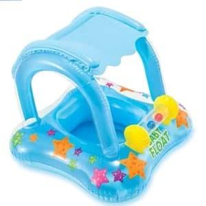 Intex my baby float boat usia 1-2 thn (kuning) ban pelampung renang