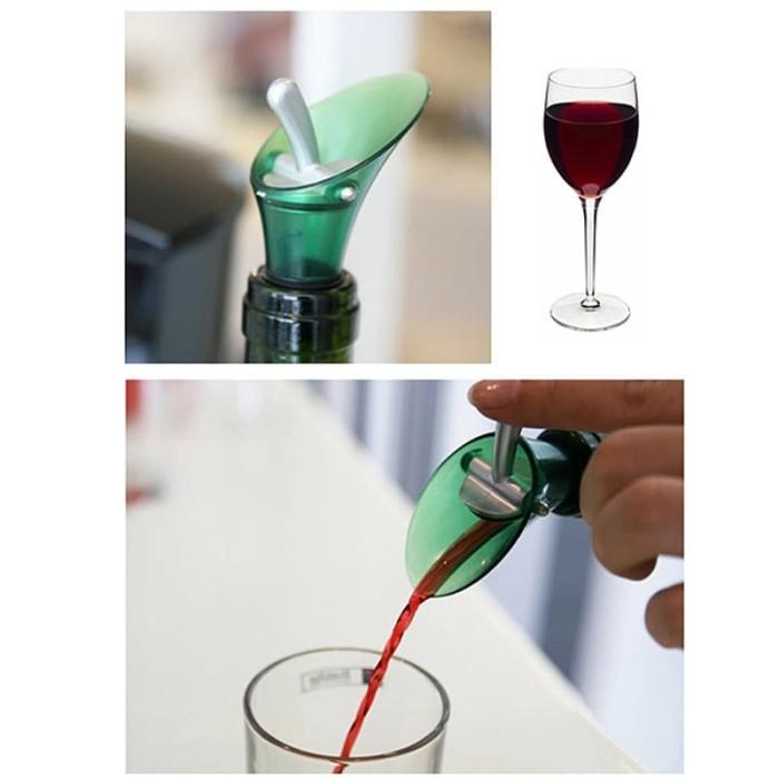 Corong penuang minuman corong botol wine