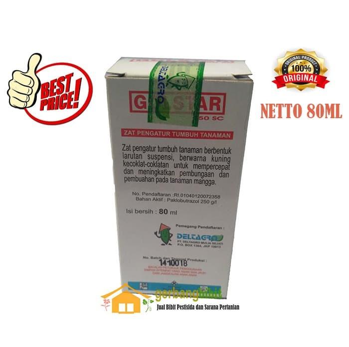 Foto Produk Pupuk ZPT GOLSTAR 250 SC Paclobutrazol 80ml dari Purotani