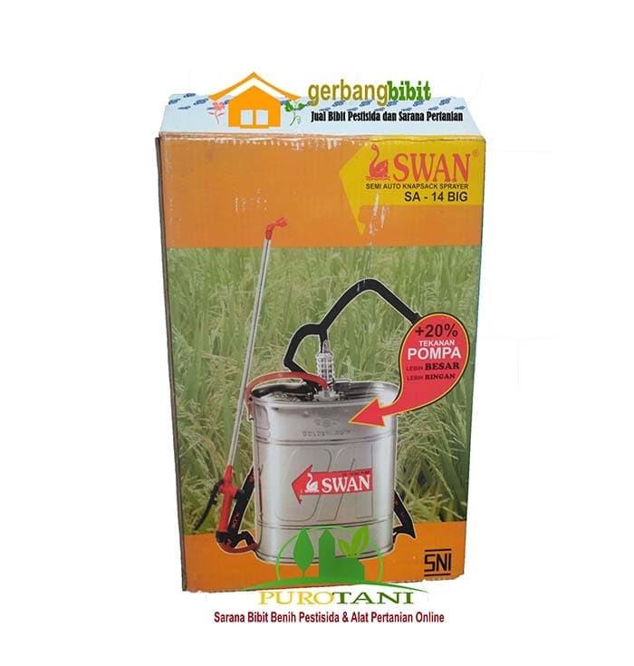 Foto Produk Tangki sprayer swan manual 14 lt stainless dari Purotani