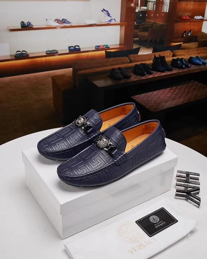 Fashion Sepatu Pria Kulit Asli Versace - Wiring Diagram And Schematics 8b90b84970