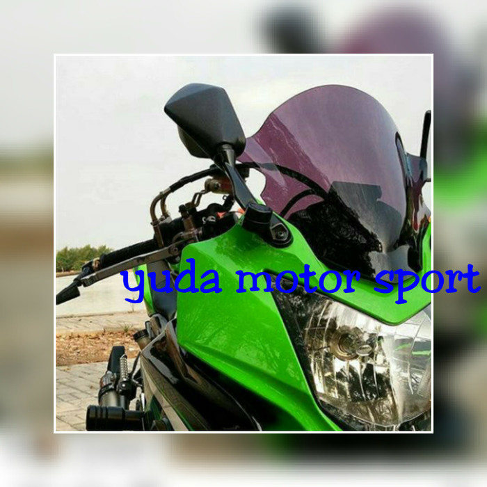 Visor ninja 250 rr mono windshield ninja rr 250 mono