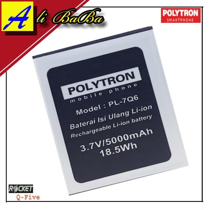 Baterai Handphone Polytron Rocket Q Five R1500 PL-7Q6 Double Power