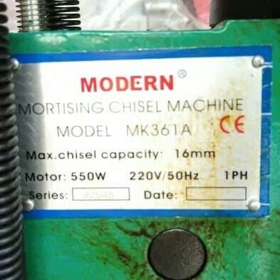 MESIN BOBOK KAYU MK 361 A MODERN - MORTISING CHISEL MODERN