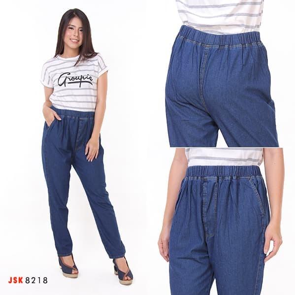 harga Celana panjang pinggang karet hamil jeans skinny ( 2 varian warna ) Tokopedia.com