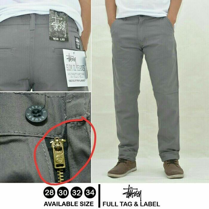 Katalog Celana Bahan Chino Travelbon.com