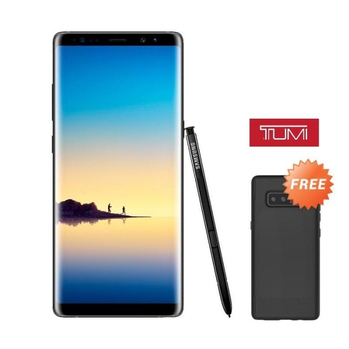 Samsung galaxy note 8 black sm-n950 - hitam