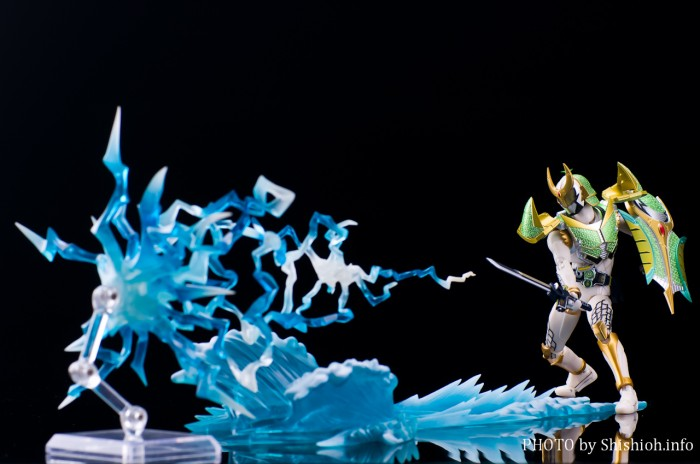 Bandai Tamashii Effect Wave Blue Version blue