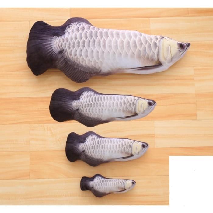 harga Mainan kucing catnip model ikan arwana silver 30cm bisa direfill Tokopedia.com